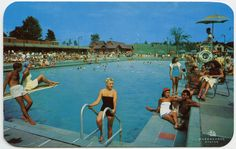 The transformation of these Poconos and Catskills resorts is like looking through some sort of dystopian View-Master.
