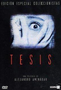 Tesis (1996) Poster