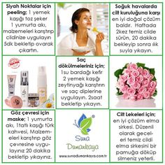 Natural recipes for suna Dumankaya skin care. to … – Beauty Care Ideas Beauty Care, Diy Beauty, Beauty Makeup, Beauty Hacks, Homemade Skin Care, Homemade Beauty, Healthy Beauty, Health And Beauty, Healthy Life
