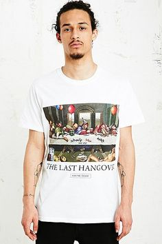 Chunk Last Hangover Tee in White - Urban Outfitters