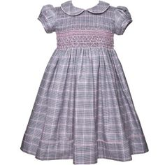 Hand Smocked Dresses for Little Girls