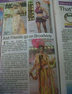 just friends BROADWAY