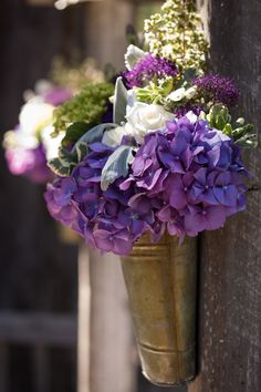 Purple Wedding Arch Flower Arrangement