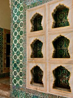 niches and Iznik tiles in Topkapi Palace