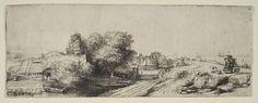 Rembrandt (Rembrandt van Rijn) | Landscape with a Milkman | The Met