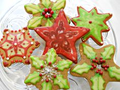 Glazed Gingerbread Cookies   by Robin Traversy {The Cookie Faerie}