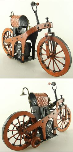 """Is it real or is it a replica? Gottlieb Daimlers original """"Einspur""""."""