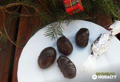 Narancsos-kakaós szaloncukor Summer Christmas, Christmas Candy, Xmas, Diy Food, Vegan Desserts, Truffles, Macarons, Stuffed Mushrooms, Good Food
