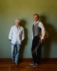 AIR SUPPLY: Russell Hitchcock (left) and Graham Russell