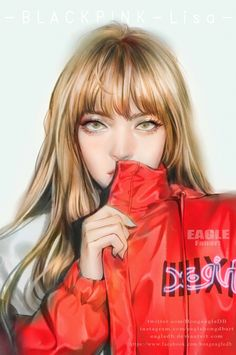 Artstation - fanart lisa[blackpink] -x-girl-japan-nonagon South Korean Girls, Korean Girl Groups, Fanart Kpop, Lisa Blackpink Wallpaper, Black Pink Kpop, Kpop Drawings, Blackpink Photos, Digital Art Girl, Fan Art