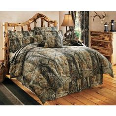 Camo doesn't really go with our decor but if we ever have a cabin somewhere, this would work  :-)