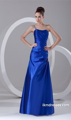 http://www.ikmdresses.com/new-style-One-Shoulder-A-Line-Satin-Floor-Length-Pleats-Holiday-Dress-p23187