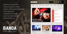 Banda - WordPress Music Magazine  -  https://themekeeper.com/item/wordpress/banda-wordpress-music-magazine