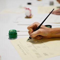 Handwritten Calligraphy | Babooche Calligraphy Calligraphy Wedding Place Cards, Calligraphy Save The Dates, Calligraphy Envelope, Foil Wedding Invitations, Modern Calligraphy, Wedding Paper, Wedding Cards, Vow Booklet, Letterpress