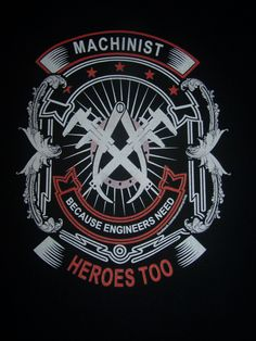 Machinist T-Shirt  Item #1105 - pinned by pin4etsy.com