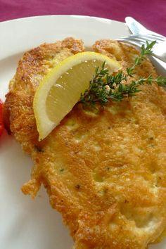 Hühnerschnitzel mit Parmesanpanier