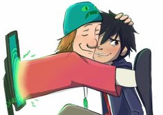 """""""Hiro, if I could have one superpower, it would be the ability to jump out of this screen and give you a big hug."""""""