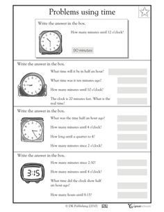 Our 5 favorite third grade math worksheets (other grade levels on site)
