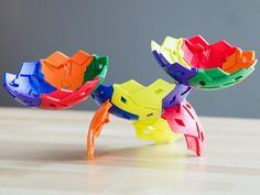 IKOS is kids building toy, discovered by The Grommet, made of interlocking shapes that come together to form a sphere.  $19.