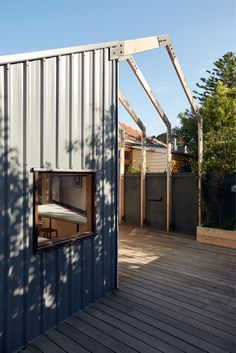 Gallery Of St Kilda East House By Claire Scorpo Local Australian Architecture & Design Melbourne Image 3 Australian Architecture, Residential Architecture, Contemporary Architecture, Architecture Design, Staining Wood Cabinets, Edwardian House, Timber Deck, St Kilda, Pergola Kits