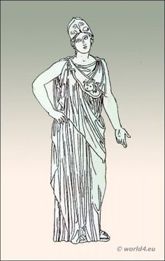 Ancient Greece chiton this page for greek costume and hairstyles from pottery also musical instruments