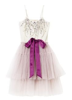 RATHER HAZY TUTU DRESS - PURPLE MOON
