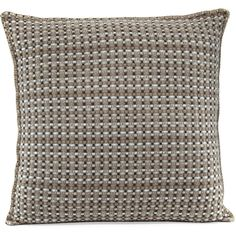 Agnona Cashmere Basketweave Pillow ($1,190) ❤ liked on Polyvore featuring home, home decor, throw pillows, home decor pillows, multi, agnona and square throw pillows