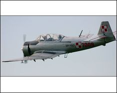 PZL TS-8 Bies is a Polish trainer aircraft, used from 1957 to the 1970s by the Polish Air Force and civilian aviation