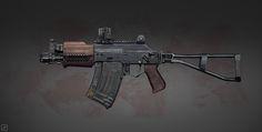 weapon_concept_9, Pavel Proskurin on ArtStation at https://www.artstation.com/artwork/weapon_concept_9