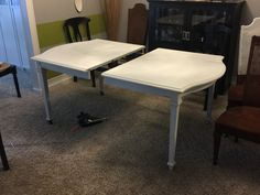 Another table progress pic of the table.