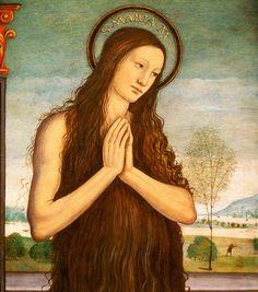 Magdalena  Pseudo Granacci - St. Mary Magdalene c. 1510  Tempera on panel 49.5 x 41 cm  Bowdoin College Museum of Art, Brunswick