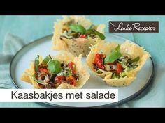 Video: parmezaanse kaas bakje met salade - Leuke recepten