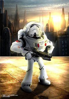 Disney Star Wars - Stormtrooper Lightyear