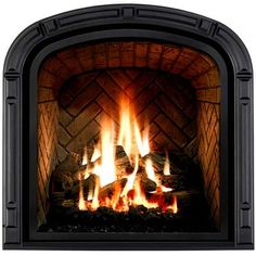Travis Industries 564 Space Saver Fireplace Great