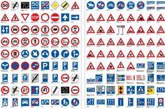 basis verkeersborden neerzetten voor situatie