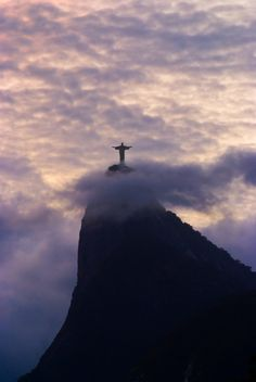 Christ the Redeemer, Corcovado mountain in the Tijuca Forest National Park, Rio de Janeiro , Brazil;