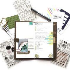 Filofax | MTN | Bullet Journal | Project Life  Kelly Purkey Creative Team : lettersinnovember@gmail.com
