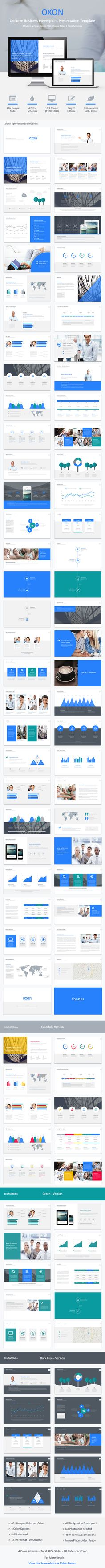 Oxon - Powerpoint Business Template - Business PowerPoint Templates