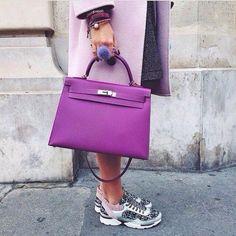 Hermes and Chanel. Hermes Birkin, Hermes Bags, Hermes Handbags, Fashion Handbags, Fashion Bags, Purses And Handbags, Replica Handbags, Girl Fashion, Sac Hermes Kelly