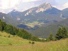 The Pyramid of Rozsutec Mountains, Nature, Travel, Naturaleza, Viajes, Destinations, Traveling, Trips, Nature Illustration