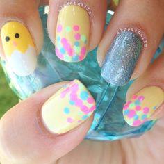 Pin for Later: Diese Maniküren machen sofort Lust auf Ostern