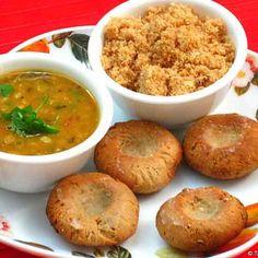 Easy steps to make Dal Baati Churma