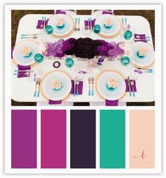 10 color palettes you'll die for