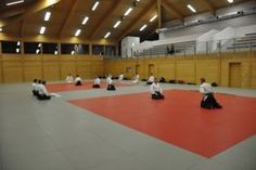 Aikido-Kyuprüfungen 8.12.2014 Wels - Reshigi vor der Prüfung