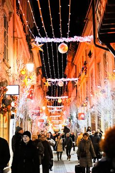 Décorations rue des Orphèvres