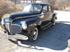 1941 Plymouth Special Deluxe.