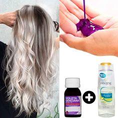 Pois bem no post de hoje eu vou te ensinar uma receita super fácil, para desamarelar os seus cabelos loiros! Shampoo Desamarelador CaseiroVocê vai precisar de:Violeta Genciana (vende em