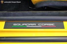 2014 LAMBORGHINI GALLARDO LP570-4 SQUADRA CORSE Door Frame Emblem