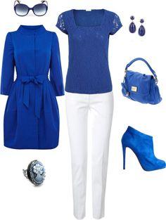 """Beautiful in Blue"" by keri-cruz on Polyvore"