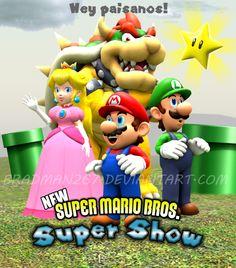 New Super Mario Bros. Super Show by BradMan267 on DeviantArt